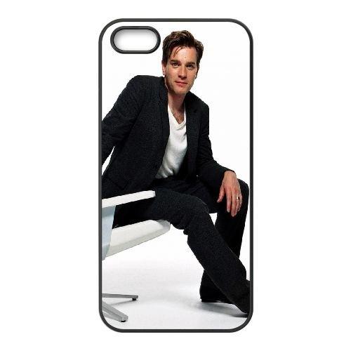 Ewan Mcgregor Chair Jacket Actor Celebrity coque iPhone 5 5S cellulaire cas coque de téléphone cas téléphone cellulaire noir couvercle EOKXLLNCD23600