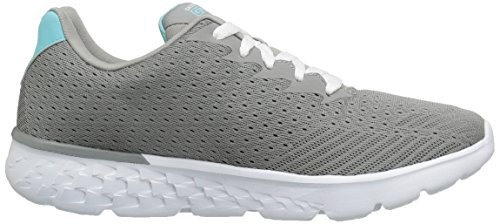 Skechers Performance Damen Go Run 400 Obstruct Grau Blau