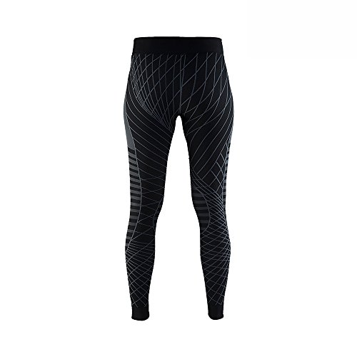 Craft, Active Intensity Pants w BL/Granite base layer, Black/Granite, XL