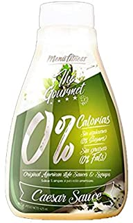 Menú Fitness - Salsa The Gourmet 0% - 425ML (Ceasar Sauce)