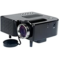 Naladoo Mini LED Projector Support HDMI USB SD AV VGA Interface For Home Vedio Theater