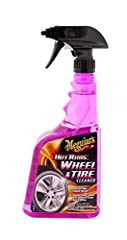 Meguiar's Hot Rims All Wheel and Tire Cleaner is designed to be safe on all clear coated wheels and wash grime with ease, leaving behind not only clean wheels, but clean tire sidewalls as well. Its unique foaming solution, Xtreme Cling is des...