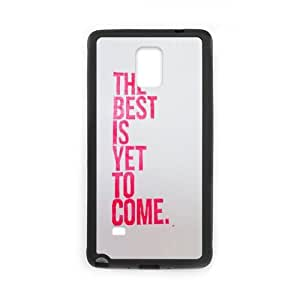Samsung Galaxy Note 4 Cell Phone Case Black quotes best is yet to come LV7147337