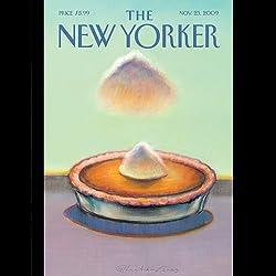 The New Yorker, November 23, 2009 (John Colapinto, Evan Osnos, Calvin Trillin)