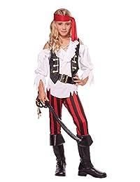 California Costumes Posh Pirate Costume, One Color, 10-12