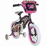 "Bratz 14"" Black Bike with Lock - Childrens balance Bikes - Kids Bike - Wheels/tires: Steel rims with 14"" x 2.125"" tires - Color: Black"