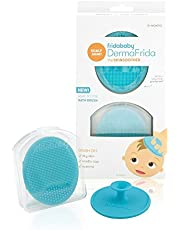 FridaBaby Baby Bath Silicone Brush DermaFrida The Skin Soother Baby Essential for Dry Skin, Cradle Cap and Eczema (2 Pack)
