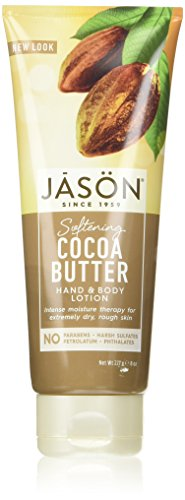 Softening Body Care (JASON Softening Cocoa Butter Hand & Body Lotion, 8 oz. (Packaging May Vary))
