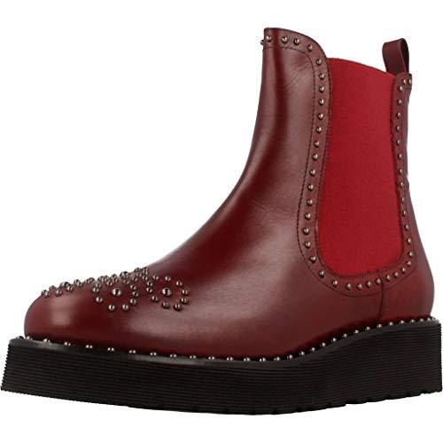 R04 Rouge Bottines Marque Rouge Modã¨le Pons Quintana 7154 Boots vino Couleur Boots H4v4nBzA