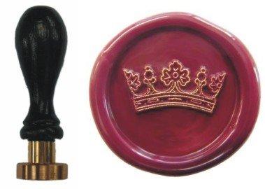 Sigillo timbro Petschaft corona di 24 mm UDIG.de