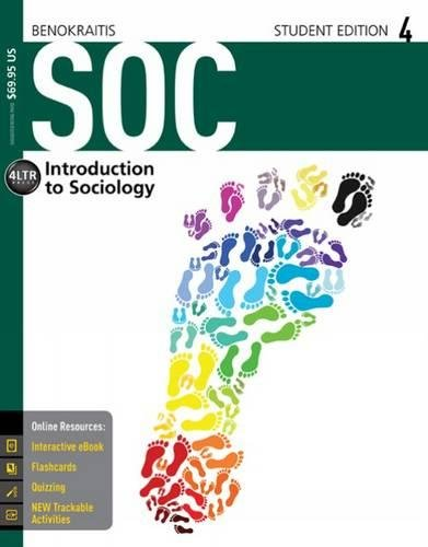 SOC (with CourseMate, 1 term (6 months) Printed Access Card) (New, Engaging Titles from 4LTR (New Bronze Core)