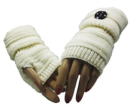 Fashion Dimensions Kreme Country Time Arm Warmer Gloves