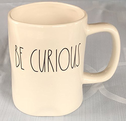 Rae Dunn Artisan Collection By Magenta Mug Dishwasher Safe BE CURIOUS