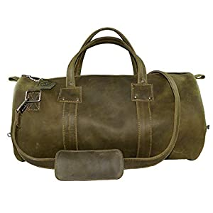 Hide & Drink Leather Luggage Duffle Bag 1