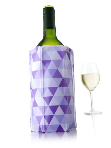 Vacu Vin Rapid Ice Wine Cooler - Diamond Purple ()