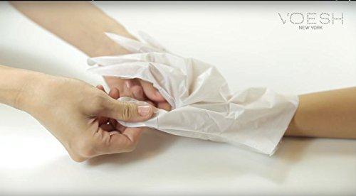Voesh New York Deluxe Manicure Collagen Gloves (6 pairs)