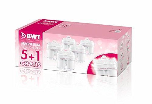(BWT Premium Mg Water Filter, Custom USA Formulation (5+1 Pack) Custom USA 60 Day Formulation)