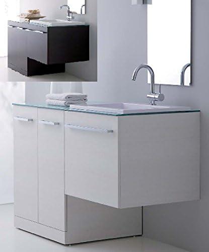 Mobili Arredo Bagno Con Lavatrice.Bagno Italia Arredo Bagno In 10 Colori Con Mobile Con Copri