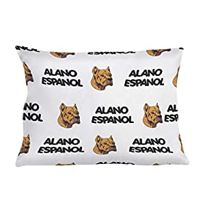 Personalized Pillow Case Alano Espanol Dog Breed Style A Polyester Pillow Cover 20INx28IN Design Only Set of 2 39