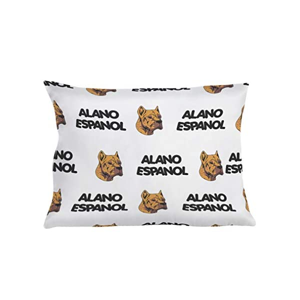 Personalized Pillow Case Alano Espanol Dog Breed Style A Polyester Pillow Cover 20INx28IN Design Only Set of 2 1