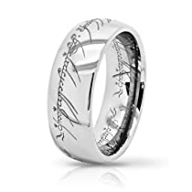 Atomic Jewelry Elvish *The One (Tungsten) Ring* Limited Special Edition Silver