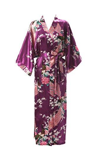 J ROBE Womens Kimono Printed Pockets