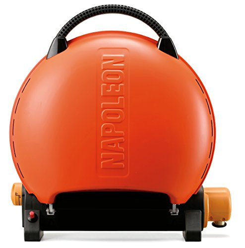 (Napoleon TQ2225PO Travel Q Portable Grill, Orange)