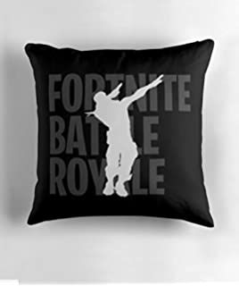 Hiaopp Fortnite - Funda de Cojín Decorativa (45,72 x 45,72 cm