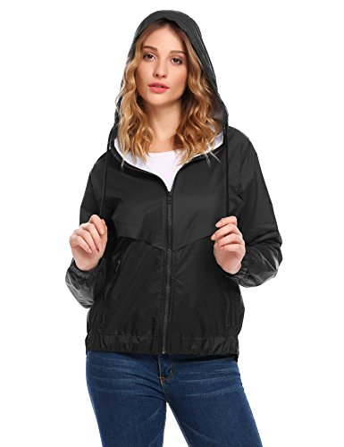 Venena-Women-Waterproof-Rain-Coat-Patchwork-Hooded-Jacket-for-Outdoor-Lightweight-Windbreaker-With-Pocket