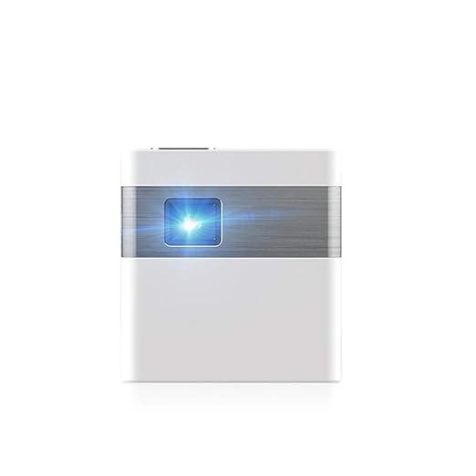 John-L Mini proyector, tamaño de Bolsillo (9x8x6cm) Proyector ...