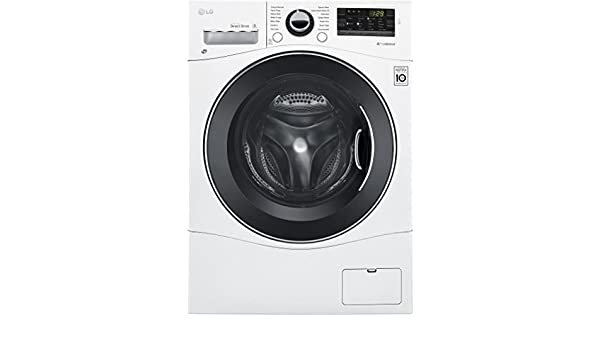 LG WM3488HW combo de lavadora/secadora de 24 pulgadas con 2.3 cu ...