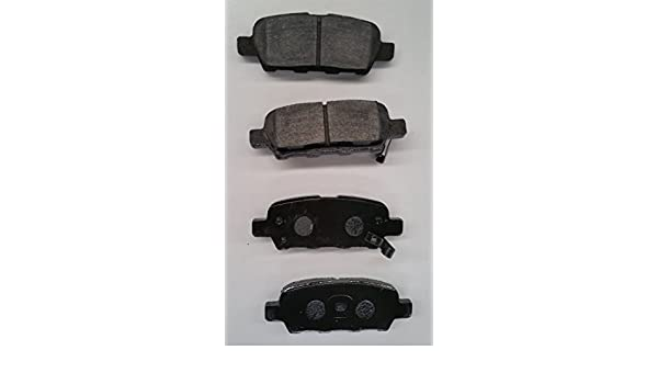 SMD905 Semi Metallic Disc Brake Pads Set Stirling Both Left and Right - Rear