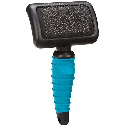 Master Grooming Tools Ergonomic Soft Slicker Brushes Molded Brushes for Grooming Dogs Medium, 4 x 2Ã'½ by Master Grooming