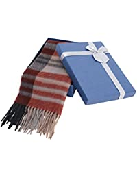 "Super Soft Luxurious 12"" x 64.5"" Cashmere Scarf with Gift Box"
