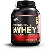 Whey Protein 100% Gold Standard, Optimum Nutrition, Morango, 2270 g