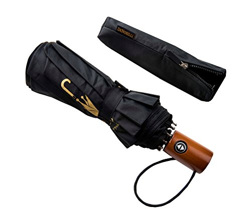 DeNobilli Windproof Travel Umbrella 10 Pack by WITKEEN