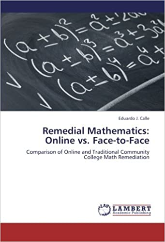 Remedial Mathematics Online Vs Face To Face