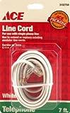 6 each: Ace Modular Telephone Line Cord (3102704)