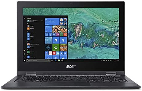 Amazon.com: Acer Spin 1 SP111-33-C6UV 11.6-Inch HD IPS Touch N4000 4GB 64GB Windows 10 S Mode Laptop: Computers & Accessories