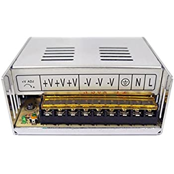 41vYHDVlcIL._SL500_AC_SS350_ amazon com genssi 48v dc 7 3a 350w regulated switching power  at sewacar.co