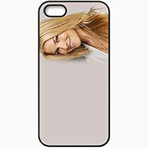 Personalized iPhone 5 5S Cell phone Case/Cover Skin Ali Larter Black