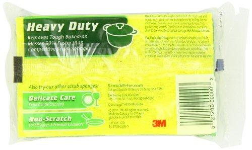 Scotch-Brite Heavy Duty Scrub Sponge, 21-Count>