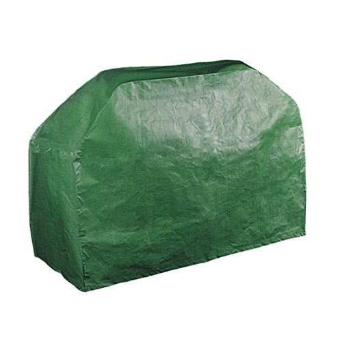 61'' Grill Cover Garden Patio Outdoor Waterproof Dustproof BBQ Barbecue Gas Grill Wagon Burner Cover Table cover (Green, 61x24x38 Inches) (Barbecue Wagon)
