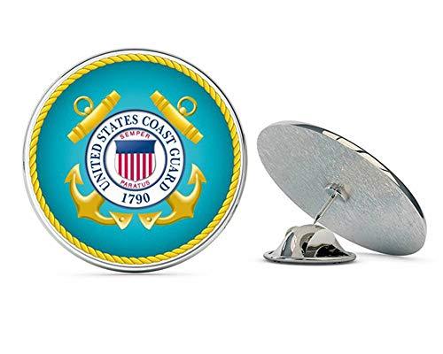 NYC Jewelers U.S. Coast Guard Seal Metal 0.75