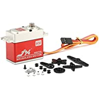 Quickbuying JX BLS-HV7032MG 30KG Large Torque High Voltage Brushless Digital Servo For RC Camera Drone Accessories