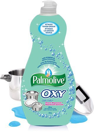 Plus Dishwashing Liquid - Palmolive Ultra Dish Liquid 25Oz Oxy Plus Power Degreaser Marine Purity Pack (3)