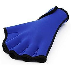 InnoGear Swim Gloves Aquatic Fitness Water Resistance Training Aqua Fit Webbed Gloves (Medium)
