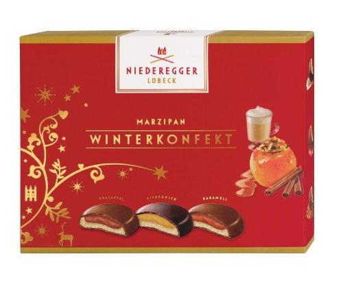 Niederegger Marzipan Winter-Konfekt, 1er Pack (1 x 120 g)