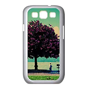 Spring Fishing Watercolor style Cover Samsung Galaxy S3 I9300 Case (Spring Watercolor style Cover Samsung Galaxy S3 I9300 Case)