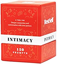 Intimacy Deck by BestSelf - 150 Engaging Conversation Starters for Couples to Strengthen Their Relationship, R